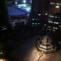 Photo taken at Westin Chosun Executive Lounge by Byoungho P. on 12/31/2012