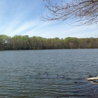 Photo taken at Burke Lake by Rory W. on 4/17/2013