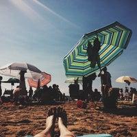 Photo taken at Пляж by Helen I. on 9/2/2014