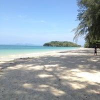 Photo taken at Sheraton Krabi Beach Resort by Alina A. on 4/25/2013