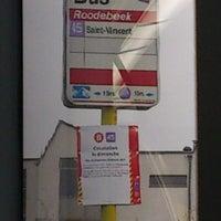 Photo taken at Roodebeek (MIVB / STIB | De Lijn | TEC) by Kevin . on 2/23/2013