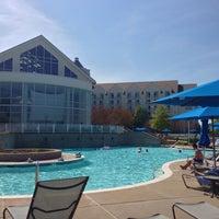 Photo taken at Pool @ Hyatt. by Eduardo A. on 4/27/2013