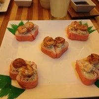 Photo taken at Sensei Sushi Bar by Liz L. on 2/4/2013