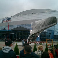 Photo taken at Арена 2000 Локомотив / Arena 2000 Lokomotiv by Oleg V. on 9/7/2013