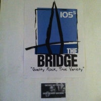 Photo taken at The Bridge at 105.5 by Ashley C. on 12/5/2012