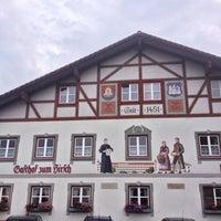 Foto tomada en Gasthof Zum Hirsch por Phil B. el 8/11/2014