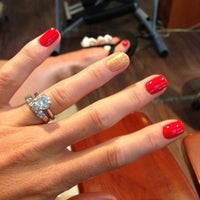 Photo taken at Planet Nails & Spa by Katie S. on 3/29/2013