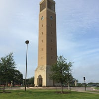Photo taken at Albritton Bell Tower by Brad H. on 6/26/2014