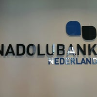 Photo taken at Anadolubank by Caglar d. on 3/4/2014