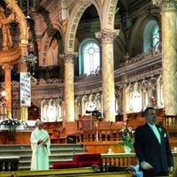 Photo taken at Église Notre-Dame-des-Neiges De Trois-Pistoles by Julinthesky on 9/7/2013