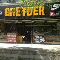 Photo taken at GREYDER Kolej Mağazası Çokkatlı Otopark Çarşı by Sibel G. on 5/20/2014