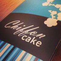 Photo taken at Chiffon Cake by Milena G. on 4/30/2013