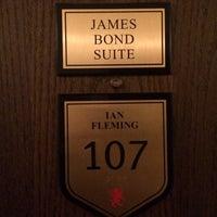 Photo taken at james bond suite by Luke W. on 3/13/2014