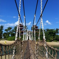 Photo taken at Palawan Beach by Sabishka C. on 5/17/2013