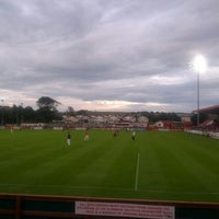 Photo taken at Showgrounds by Trevor C. on 7/27/2013