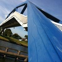 Photo taken at Fietsbrug by Marijke L. on 9/30/2012