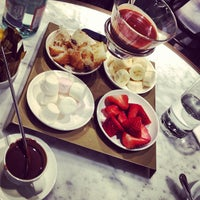 Photo taken at Chocolate Bar at Harrods by Muhannad A. on 3/7/2013