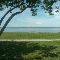 Photo taken at Wickford Town Beach by Danny C. on 6/5/2013