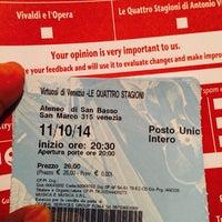 Photo taken at Ateneo Di San Basso by Cuauhtemoc M. on 10/11/2014