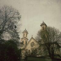 Photo taken at Hagia Triada Greek Orthodox Church by melike a. on 4/6/2013