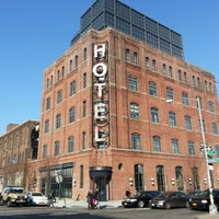 Photo taken at Wythe Hotel by Hans A. on 1/6/2013