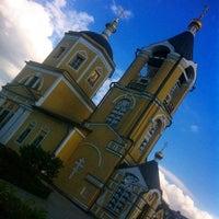 Photo taken at Церковь Пос. Мосрентген by Александр <С> Г. on 9/8/2014