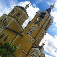 Photo taken at Церковь Пос. Мосрентген by Александр <С> Г. on 6/22/2014