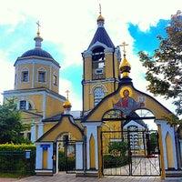 Photo taken at Церковь Пос. Мосрентген by Александр <С> Г. on 7/14/2014