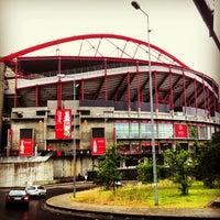 Photo taken at Estádio do Sport Lisboa e Benfica by Александр <С> Г. on 6/7/2013