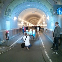 Photo taken at Elbtunnel by Peter F. on 5/1/2013