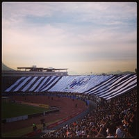 Photo taken at Estadio Tecnológico by Rolando P. on 3/13/2013