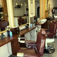 Photo taken at Nick's barbering & grooming by Makis D. on 11/23/2017