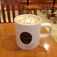 Photo taken at Tully's Coffee by chitoroll on 1/7/2013