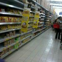 Photo taken at Carrefour by Ika Fakistia S. on 12/29/2012