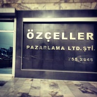Photo taken at Özçeller group company by İlyas ugur C. on 2/12/2014