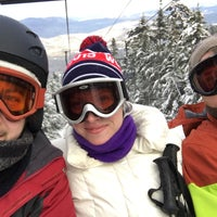 Photo taken at North Peak Lodge by William D. on 1/2/2016