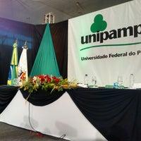 Photo taken at Clube Recreativo São Borjense by Rodrigo C. on 4/25/2014
