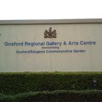 Photo taken at Gosford Regional Art Gallery by Rainier T. on 12/9/2012