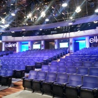 Photo taken at The Ellen DeGeneres Show by Andre B. on 12/12/2012