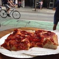 Photo taken at Prince Street Pizza by Mark C. on 7/13/2013