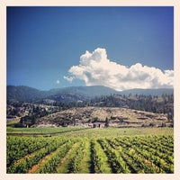 Photo taken at Blasted Church Winery by Ricky B. on 7/4/2013