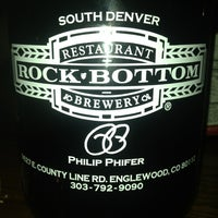 Photo taken at Rock Bottom Restaurant & Brewery by Vegas C. on 1/25/2013