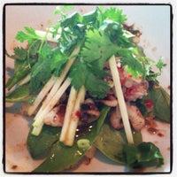 Photo taken at SPIN Modern Thai Cuisine by Dika M. on 6/1/2013