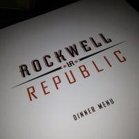 Photo taken at Rockwell Republic by Jeremy K. on 3/24/2013