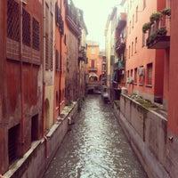 Photo taken at La piccola Venezia - Finestra Sul Reno by Natalia L. on 12/23/2012