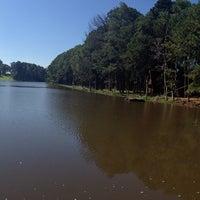 Photo taken at Lago do Holandês by Leonardo M. on 4/18/2014
