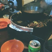 Photo taken at 833 BBQ Steamboat Buffet by anna p. on 9/11/2013