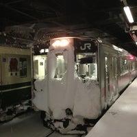 Photo taken at Akita Station by n.waka on 12/26/2012