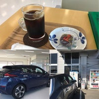 Photo taken at 山形日産 東根店 by n.waka on 9/30/2017