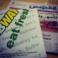 Photo taken at CBA Subway by Haya A. on 12/6/2012